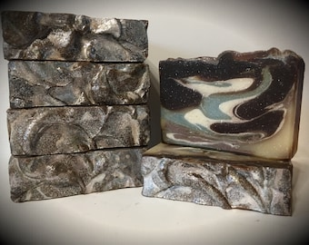 Sleepy Time scented soap, lavender vanilla scented soap, handmade soap, artisan soap, cold processed soap