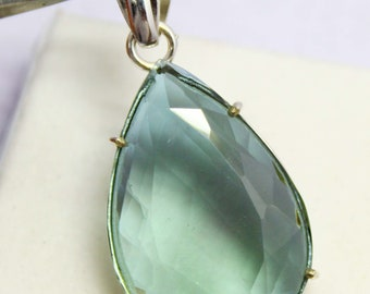 62.50Ct Certified Color Changing Alexandrite Pendant 925 Solid Sterling Silver AQ2352