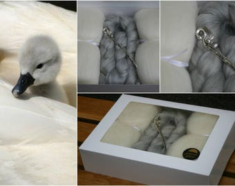 Mute Swan Themed Box - minimum 200g