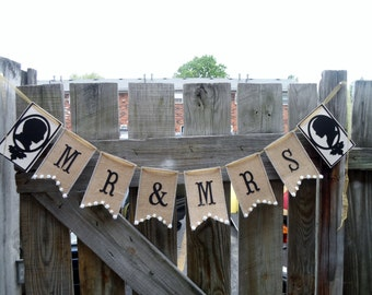 burlap banner beautiful handmade unique elegant