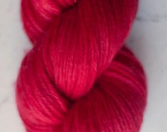 Sparkle Sock Yarn, Scarlet