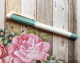Penna stilografica - goccia d'acqua dell'alzavola