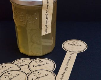 10 labels for your jam jars