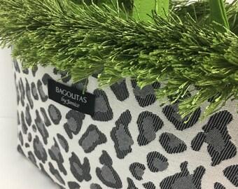 Leopard with Splash of Green Fringed BAGOLITA Handbag   NEW Birdie Size!