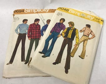 1970's | Men's Clothing Patterns | used