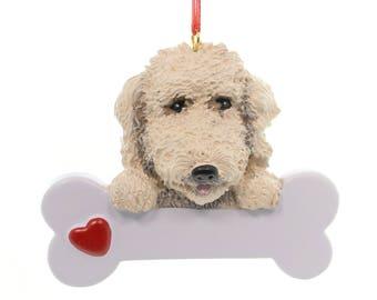 Labradoodle Personalized Christmas Ornament, Ornament, Labradoodle, Lab, Personalized, Labradoodle, Poodle, Golden Retriever, Goldendoodle