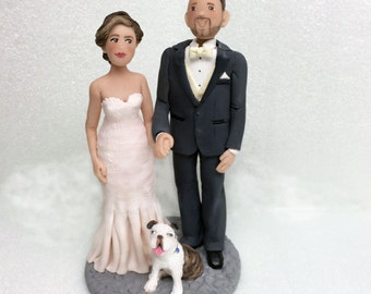 Wedding Cake Topper * Custom Bride and Groom from your Photos and Ideas