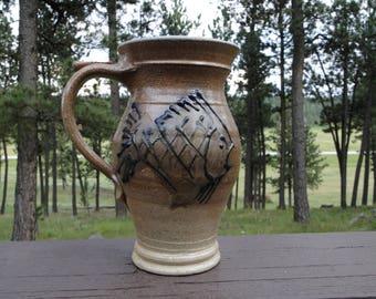 Ceramic Fish Vase / Handmade Vase / Decor Vase / Ceramic Vase