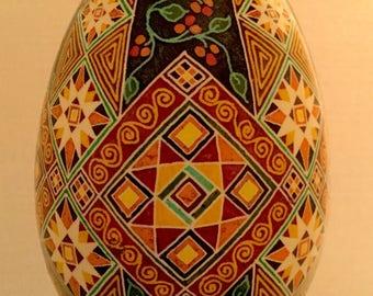 Pysanky, Ukrainian egg, batik