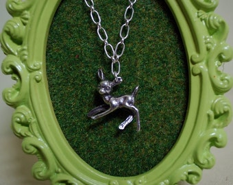 A deer necklace for your sweet lil dear... Children's Necklace
