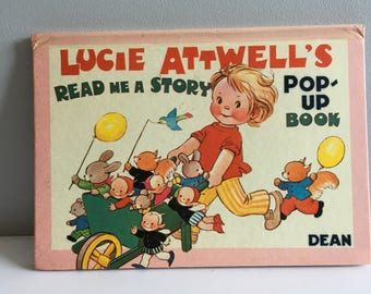 Lucie Attwell's Pop-up book, Read me a Story, Dean & son, 1970.