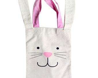 Bunny gift bag, some bunny is one, farm theme, loot bags, gift bags, woodland party, animal theme, rabbit bag, rabbit birthday, bunny theme
