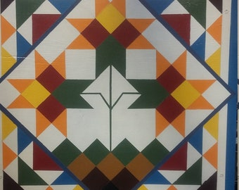 Hand Painted Barn Quilt