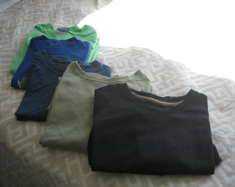 Set of five oversized 90s tee-shirts