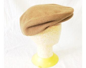Vintage Beige Pendleton Wool Newsboy Hat