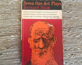 Seven One-Act Plays by Bernard Shaw