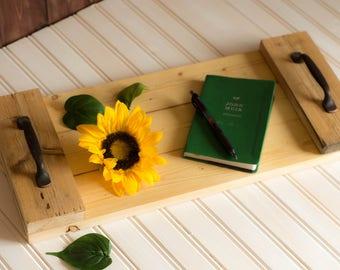 Wood Tray, Breakfast Tray, Ottoman Tray