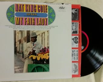 Nat King Cole sings My Fair Lady. Vinyl Record LP