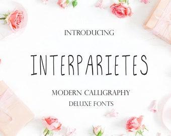 Handwritten font, Digital font, Calligraphy font, Font download, Script Font, Modern font, Wedding font, Watercolor font. Instant download