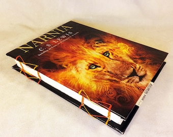Chronicles of Narnia notebook by CS Lewis Aslan sketchbook lion witch wardrobe
