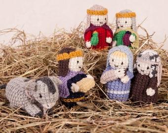 Pdf Knitting Pattern Knit Nativy by Angela Turner