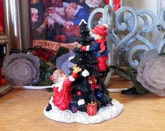 Vintage Ceramic Christmas Tree figurine