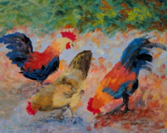 Key West Chickens