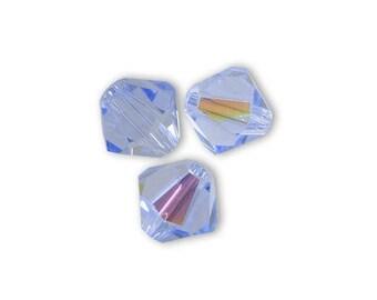 1 lot 20 Swarovski bicones 4mm light sapphire Swarovski Crystal