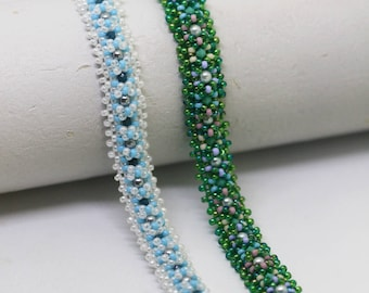 PDF Tutorial - Ravinia Bracelet Instant Download Beading Pattern