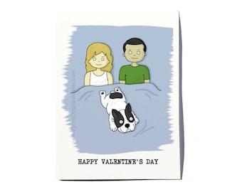 French Bulldog Valentine's Day card; French Bulldog Valentine card; Frenchie Valentine card; Funny Frenchie card; by FunnyDogStudio