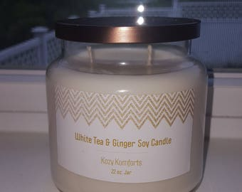 White Tea & Ginger