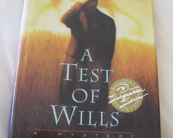 A Test Of Wills Book Signed by Charles Todd Signature Series Edition