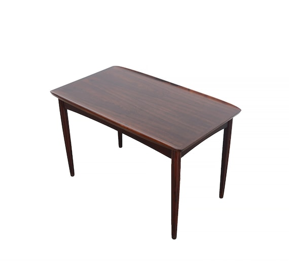 Rosewood Side Table Mobelintarsia Cocktail Table Coffee Table