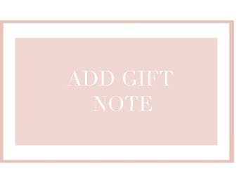 Include Gift Note
