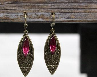 Sadie Green's Art Deco and Crystal Earrings