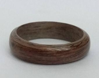Walnut Ring - Bentwood Ring -Handmade