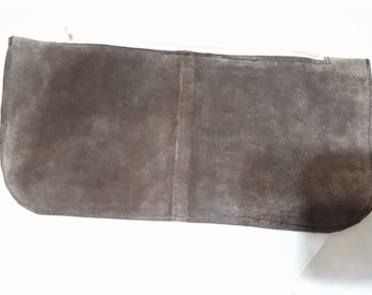 Brown Suede Wallet