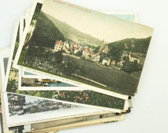 Postcards, French Postcards, Vintage Post Cards, Old Postcards, Postcard Set, Ephemera Pack, Travel Postcards, Postcards Vintage,  Post Card
