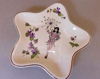 Violet Fairy Star Plate