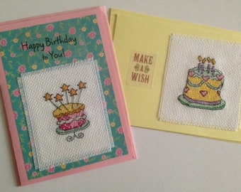 Birthday Cake Cards