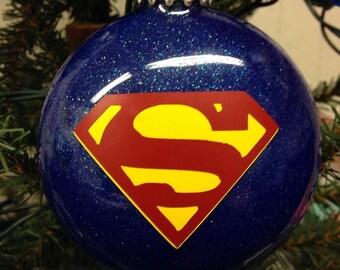 Holiday Christmas Tree Ornament Marvel Comic Superhero Superman