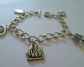 CLEARANCE Faction Charm Bracelet