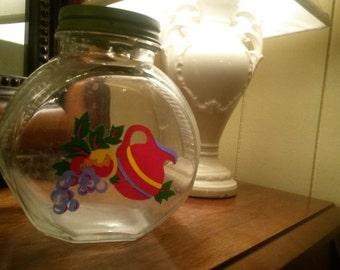SALE!!! - 20% off - Vintage MidCentury Kitchen Canister Jar