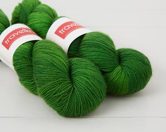 Pure Merino hand dyed sock yarn - Jazz Age
