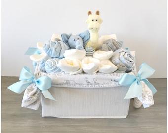 New Baby Gift Basket ...