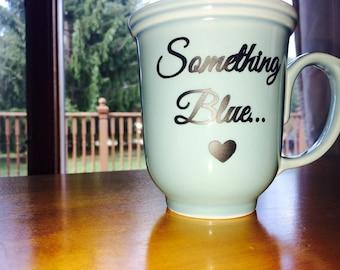 Something Blue Wedding Coffee Mug
