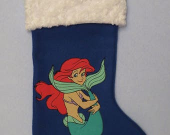 Little Mermaid Christmas Stocking