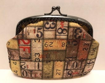 Large Measuring Tape Coin Purse