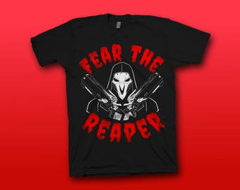 Reaper Overwatch T-shirt (Fear The Reaper)