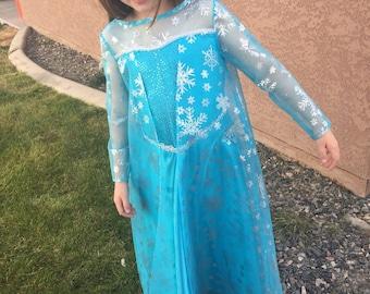 Elsa dress size 4